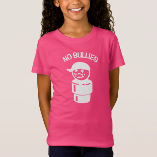 Vintage Little People Bully - No Bullies (White) T-Shirt