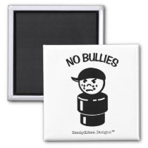 Vintage Little People Bully Tough Kid - No Bullies Magnet