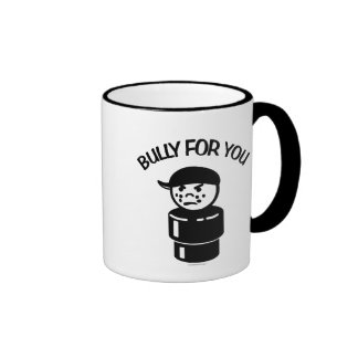 Vintage Little People Tough Kid - Bully For You Ringer Coffee Mug