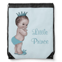 Vintage Little Prince Blue Diaper Bag