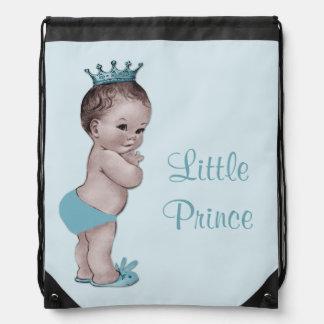 Vintage Little Prince Blue Diaper Bag Drawstring Bag