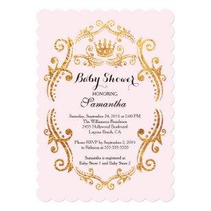Vintage little princess baby shower gifts on zazzle vintage little princess baby shower invitation filmwisefo
