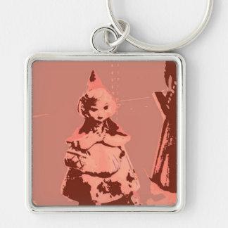 Vintage Little Red Keychain
