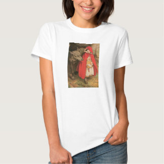 Vintage Little Red Riding Hood and Big Bad Wolf T-Shirt