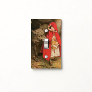 Vintage Little Red Riding Hood Jessie Wilcox Smith Light Switch Cover