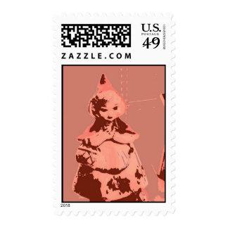 Vintage Little Red Riding Hood Postage