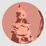 Vintage Little Red Riding Hood Stickers