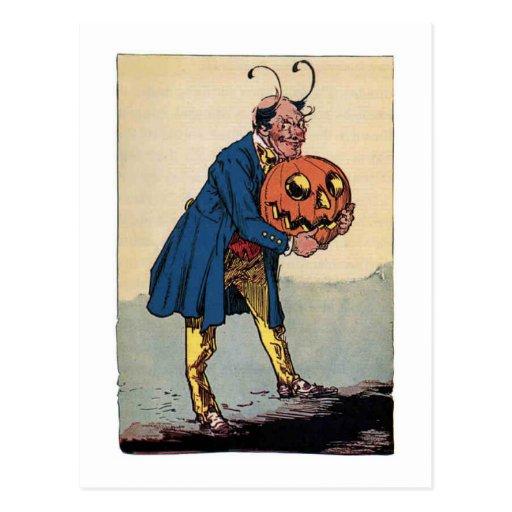 Vintage Little Wizard of Oz Illustration Post Card