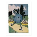 Vintage Little Wizard of Oz Illustration Postcards