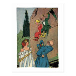 Vintage Little Wizard of Oz Post Card