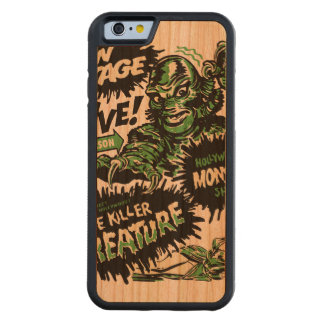 Vintage Live Monster Hollywood Show Carved® Cherry iPhone 6 Bumper