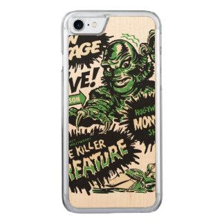 Vintage Live Monster Hollywood Show Carved iPhone 7 Case