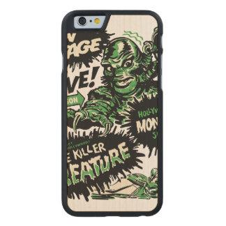 Vintage Live Monster Hollywood Show Carved® Maple iPhone 6 Slim Case