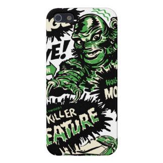 Vintage Live Monster Hollywood Show Case For iPhone SE/5/5s