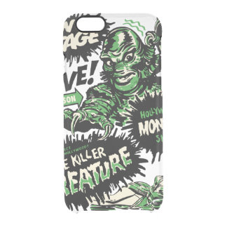 Vintage Live Monster Hollywood Show Clear iPhone 6/6S Case