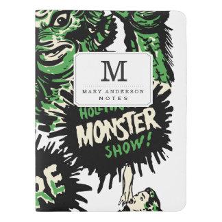 Vintage Live Monster Hollywood Show Extra Large Moleskine Notebook