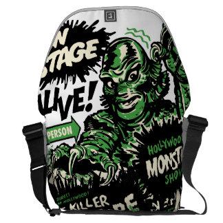 Vintage Live Monster Hollywood Show Messenger Bag