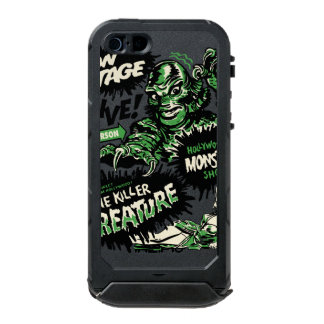 Vintage Live Monster Hollywood Show Waterproof iPhone SE/5/5s Case