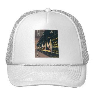 Vintage LNER Railway Mesh Hat