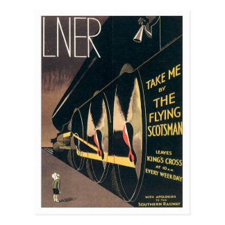Vintage LNER Railway Postcard