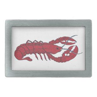 Vintage Lobster Belt Buckle