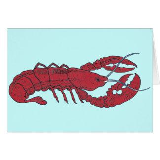 Vintage Lobster Cards