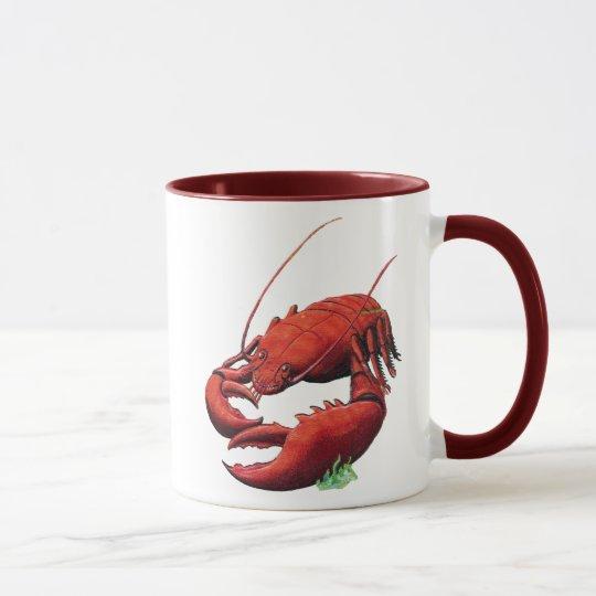 Vintage Lobster Cutout Mug