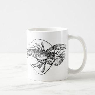 Vintage Lobster illustration Coffee Mug