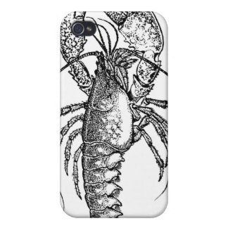 Vintage Lobster illustration iPhone 4/4S Covers