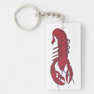 Vintage Lobster Acrylic Keychains