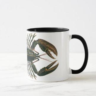 Vintage Lobster, Marine Ocean Life Crustacean Mug