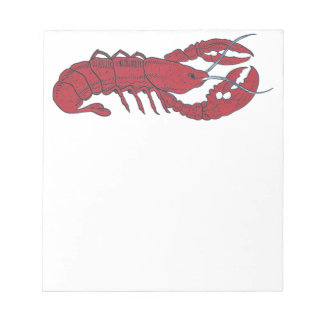 Vintage Lobster Note Pad