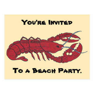Vintage Lobster Post Cards