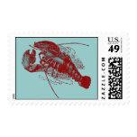 Vintage Lobster Stamps