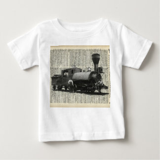 Vintage Locomotive Baby T-Shirt
