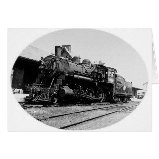 Vintage Locomotive Engine 1385 Cards