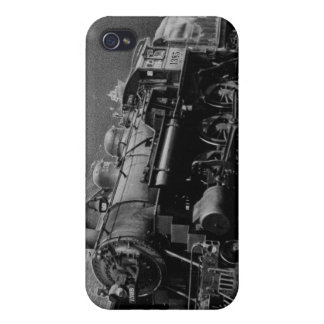 Vintage Locomotive Engine 1385 Cover For iPhone 4