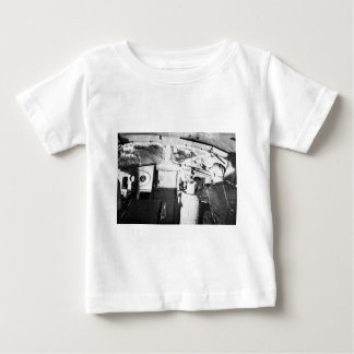 Vintage Locomotive Engineer Inside the Cab Baby T-Shirt
