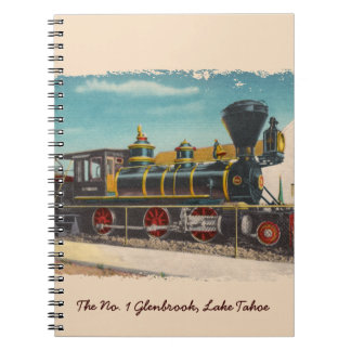 Vintage Locomotive Glenbrook Notebook