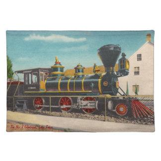 Vintage Locomotive Glenbrook Placemat
