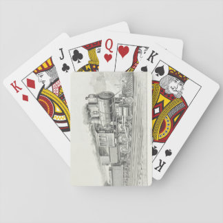 Vintage Locomotive Playing Cards