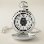"""Vintage Locomotive Pocket Watch<br><div class=""""desc"""">Pocket watches are the portable timepiece made with love. They have made a serious come back as the perfect gift for you, your parents, spouse, kids, friends, and are intended for everyday use, special occasions and continue to be the perfect corporate giveaways for office staff, employees , and retirees in...</div>"""