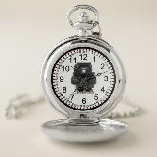 Vintage Locomotive Pocket Watch
