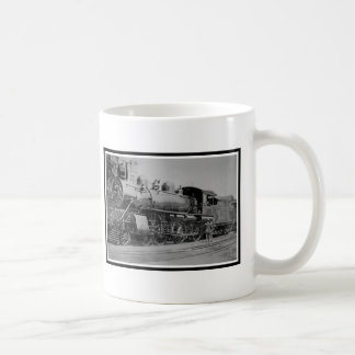 Vintage Locomotive Railroad Steam Engine Classic White Coffee Mug