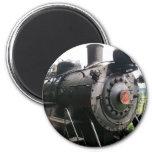 Vintage Locomotive Railroad Train 2 Inch Round Magnet