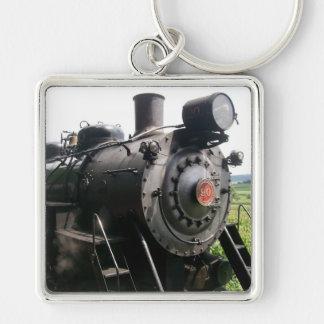 Vintage Locomotive Railroad Train Keychain