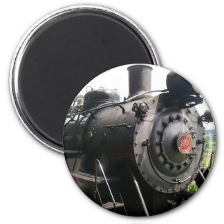 Vintage Locomotive Railroad Train Magnet