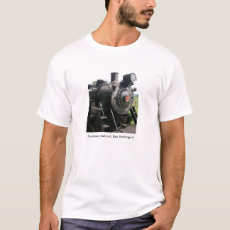 Vintage Locomotive Railroad Train T-Shirt
