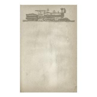 Vintage Locomotive Stationery