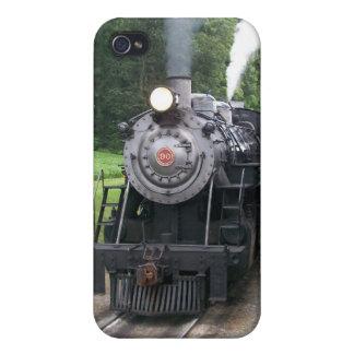 Vintage Locomotive Train i iPhone 4/4S Cover